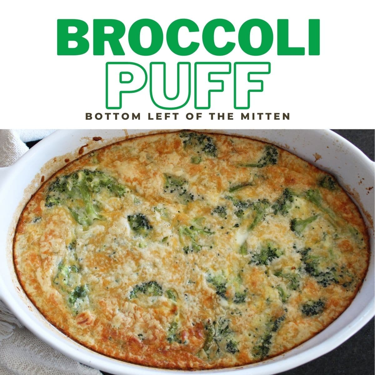 Broccoli Puff | Bottom Left of the Mitten
