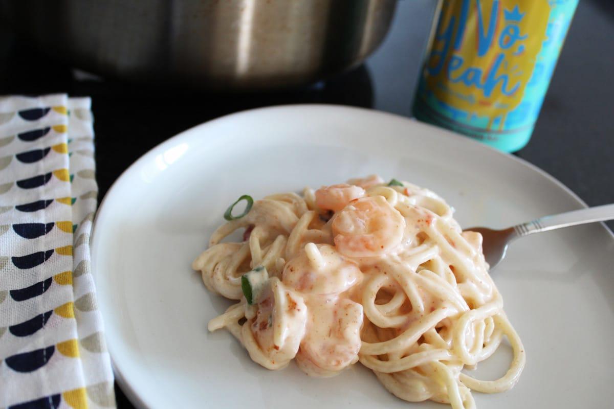 Shrimp Spaghetti | Bottom Left of the Mitten