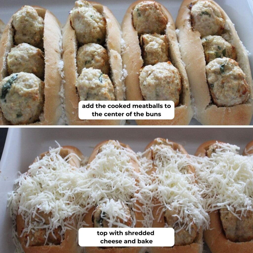 collage of image for baking sandwiches with descriptive text overlay.